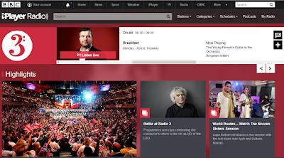 BBC Radio 3 Home page