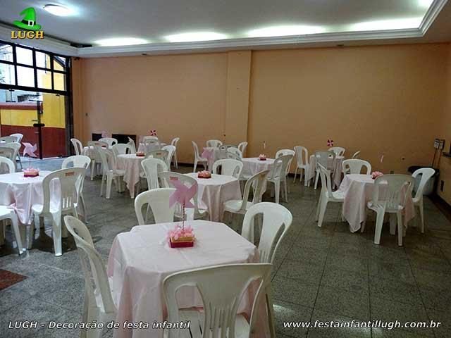 Toalhas para as mesa dos convidados - Festa infantil