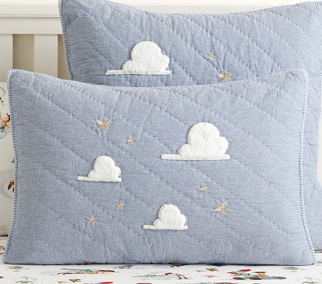 Toy Story themed pillows from Pottery Barn Kids