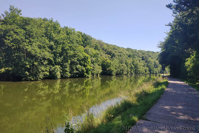 Ravel network Wallonia River Sambre