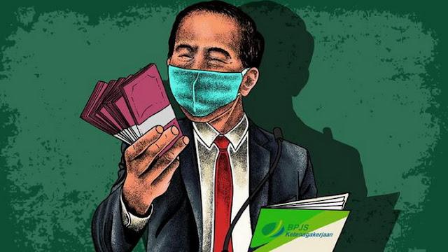 Cairkan BLT Rp 2,4 Juta, Jokowi: Penghargaan yang Rajin Bayar Iuran BPJS