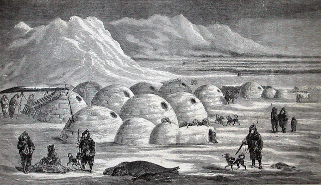 Evidence of Ancient Life in the Arctic Region by Science and Old Scriptures