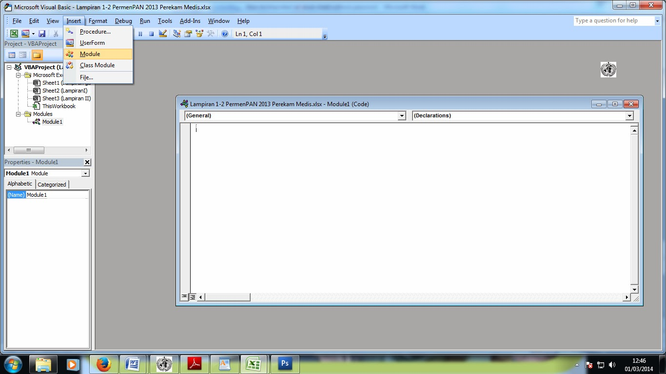 Cara Unprotect Excel Sheet Tanpa Password