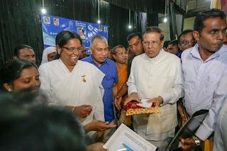 srilanka-president-join-yoga-camp