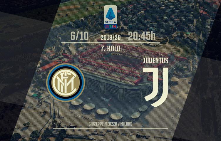 Serie A 2019/20 / 7. kolo / inter - Juventus, nedelja, 20:45h