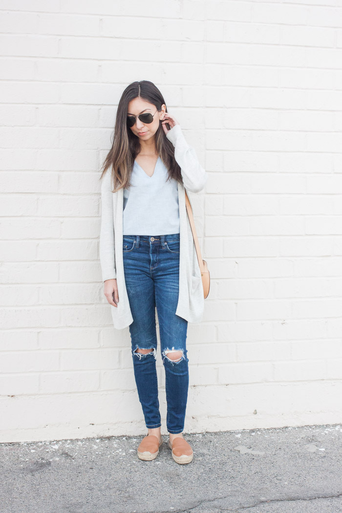 womens denim look