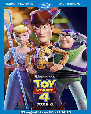 Toy Story 4 HD 1080P Latino