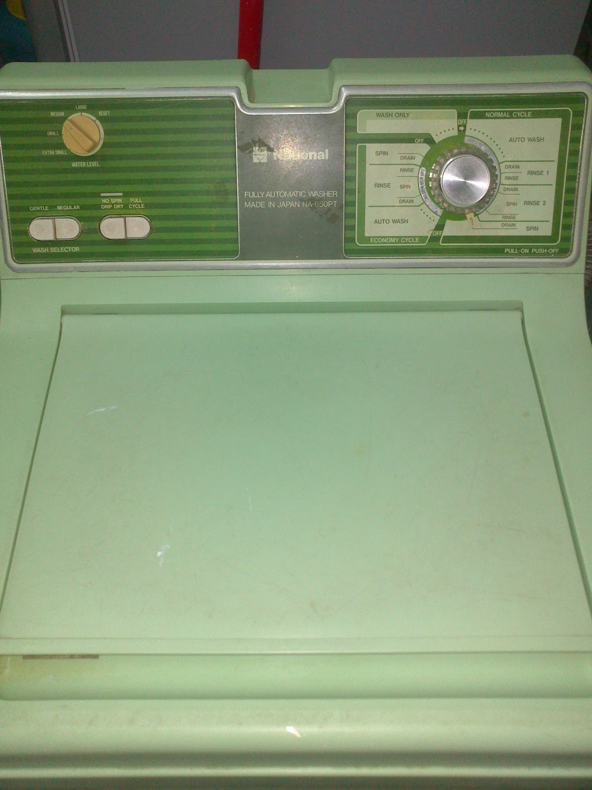 artsy fartsy stuff vintage washing machine national np pt