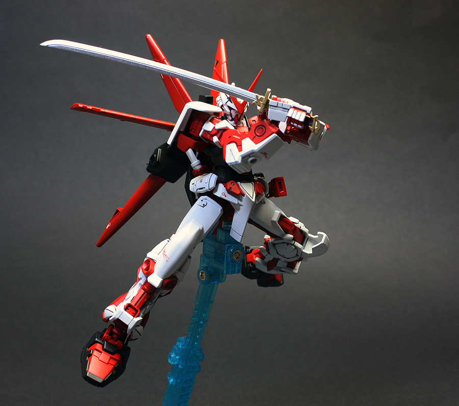 HG 1/144 Gundam Astray Red Frame (Flight Unit) Painted ...
