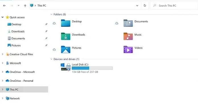 يتم تجديد أيقونات مستكشف Windows 10 ، وإليك كيف ستبدو