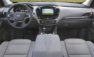 2019 Chevy Traverse Redesign Interior