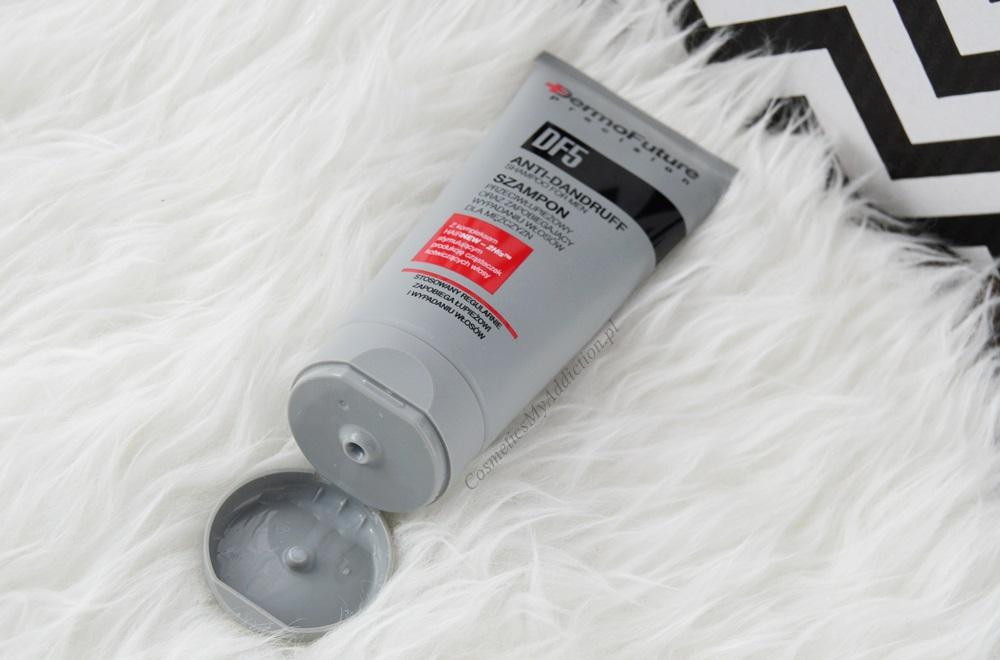 Szampon przeciwłupieżowy oraz zapobiegający wypadaniu włosów od Dermofuture