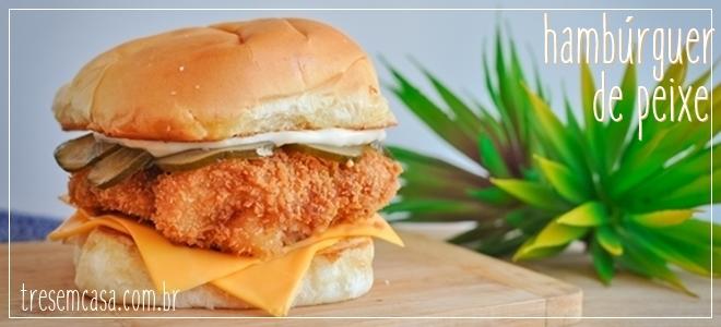 hambúrguer de peixe receita