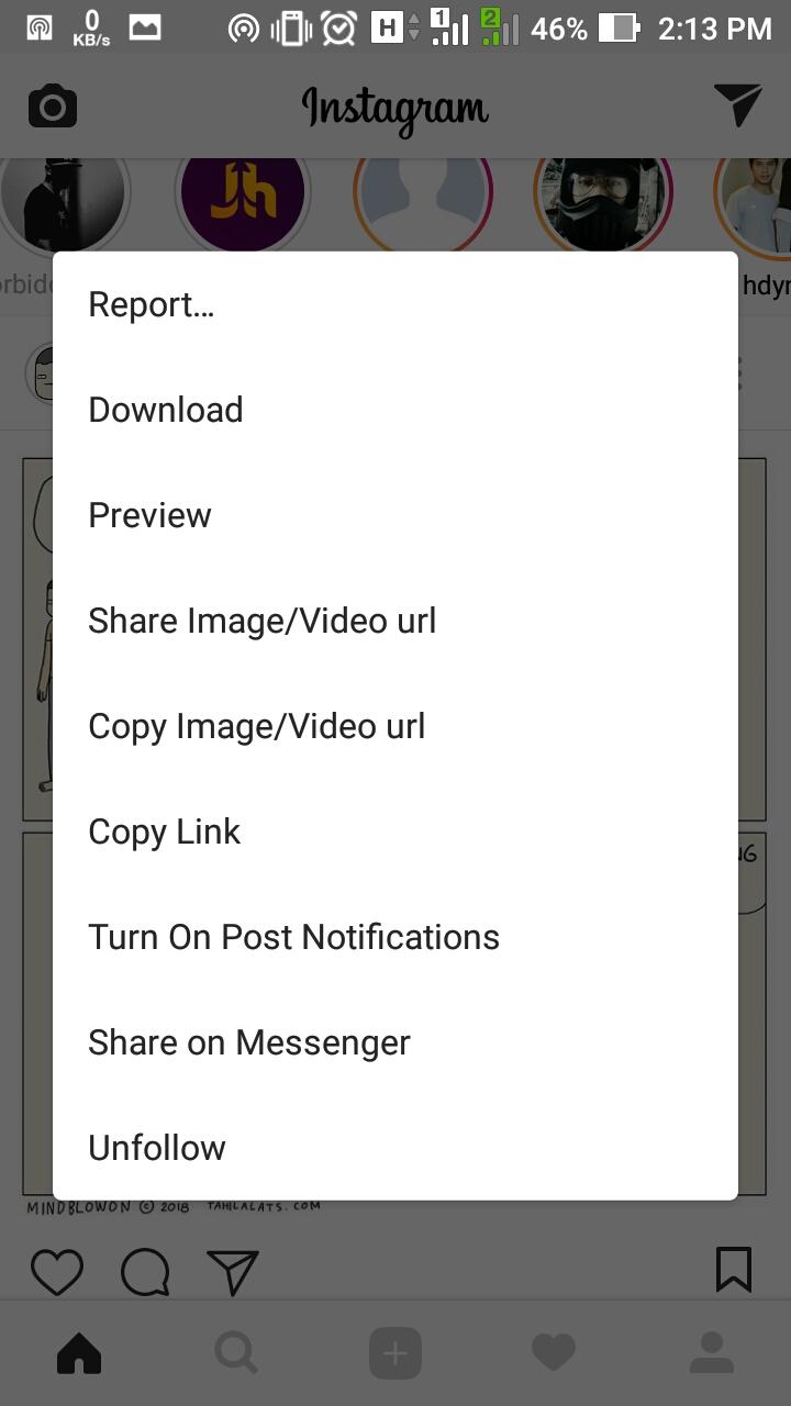 Cara Download Video dan Gambar Pada Instagram