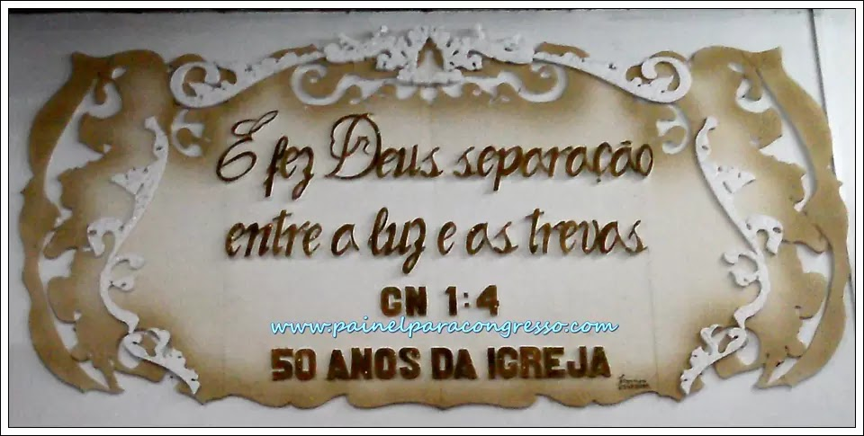 Aniversário de igreja  /  Gênesis 1:4