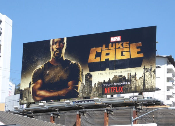 Luke Cage series premiere billboard