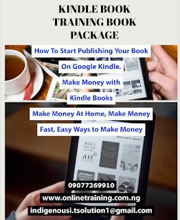 Amazon Kindle Book Publishing Training Guide