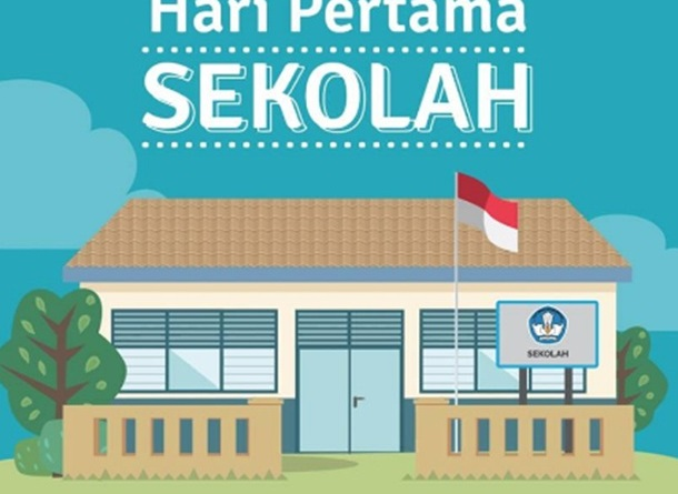 Hari Pertama Masuk Sekolah Tahun Ajaran 20182019 Untuk Sd