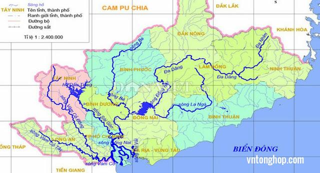 Sông Đồng Nai Là Sông Nội Địa Dài Nhất VN.