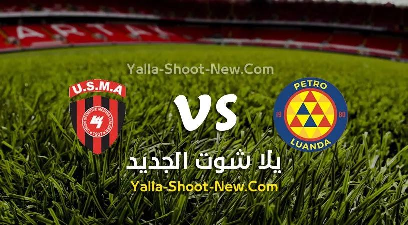 مباراة بيترو أتلتيكو وإتحاد الجزائر