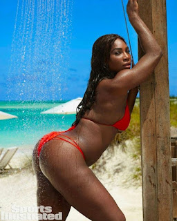 Lovely Photos Of Serena Williams In Swimsuit