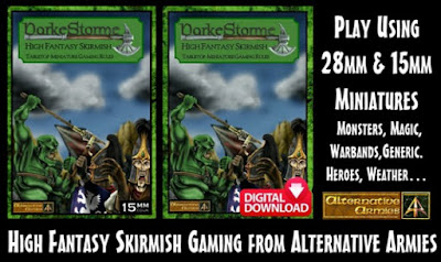 DarkeStorme High Fantasy Rules for 28mm and 15mm scales | Miniature