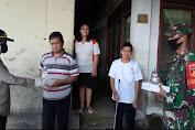 Peduli Masyarakat Terdampak Covid 19, TNI, POLRI  dan Pemprov Sulut Gelar Baksos Dapur Umum