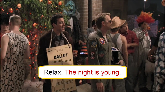 Arti The Night Is Young