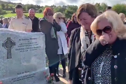 Irish man gets last laugh at his own funeral