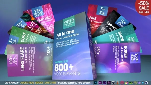 Videohive Video Creation Suite V2 22974586