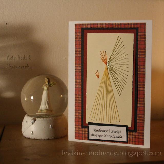 626. Bordowe kartki bożonarodzeniowe z aniołkami