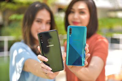 Cara Hard Reset Samsung Galaxy A20S