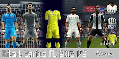 Kitset Santos FC V.2 2016 By #Zaxisjr