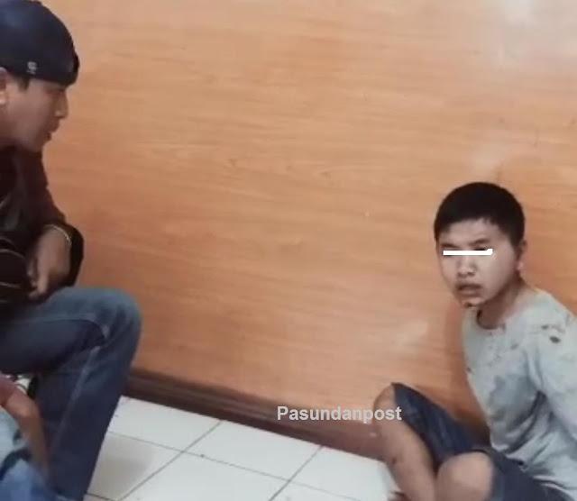 Residivis Maling Motor Di Sukabumi Ditangkap Polisi, 1 Honda Beat Disita