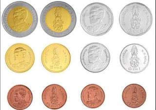 uang koin Thailand