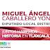 MIGUEL ÁNGEL CABALLERO YONCA REAFIRMA SU COMPROMISO CON EL CAMPO