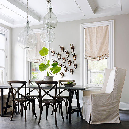 Beautiful Dining: Mix And Chic: Beautiful Dining Room Ideas