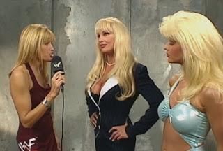 WWE / WWF - Unforgiven 1999 - Lilian Garcia interviews Debra w/ Miss Kitty