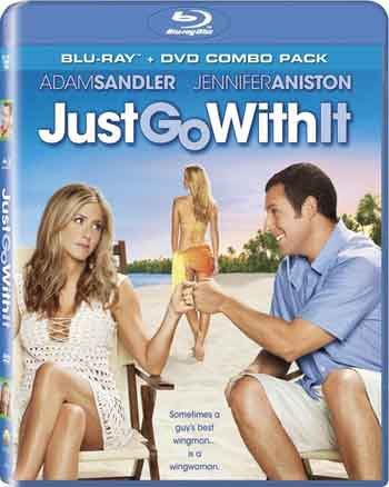 Just Go With It 2011 480p 300MB BRRip Dual Audio [Hindi - Eng]
