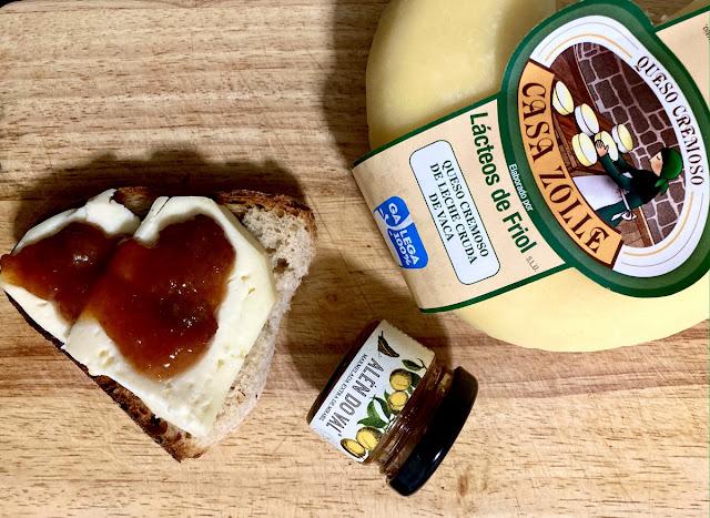queso friol mermelada mirabeles semana verde silleda