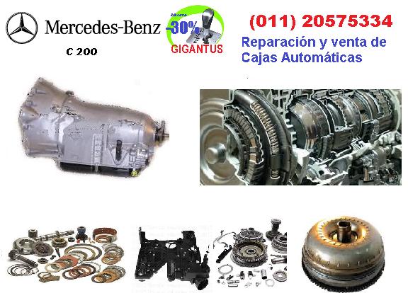 Reparación de caja automática  MERCEDES BENZ C200