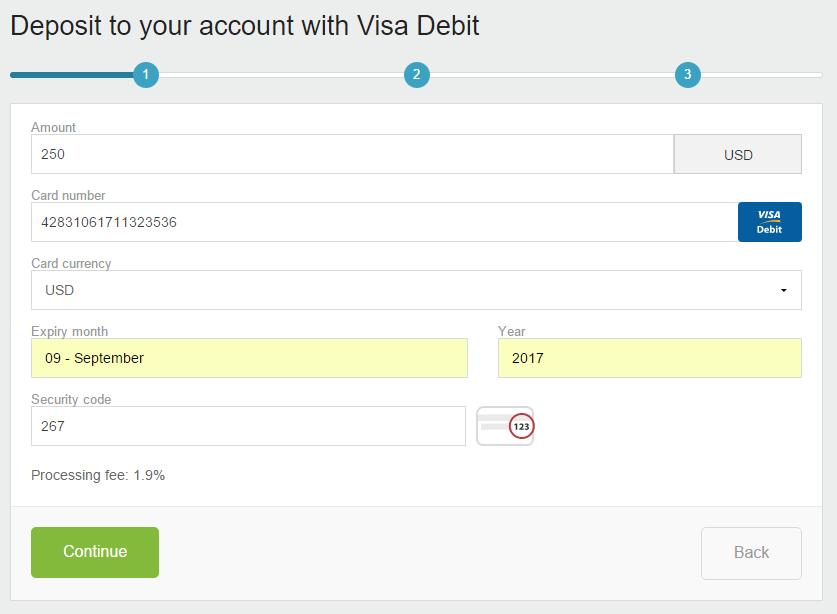 Cách Nạp Tiền Neteller bằng Visa