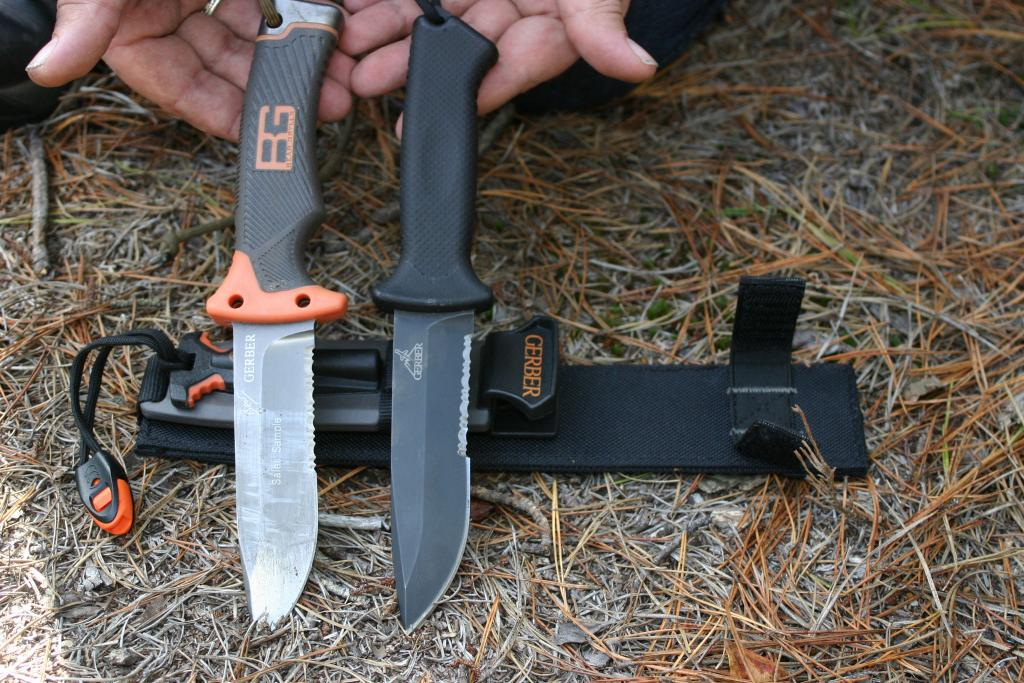 Today We Re Going To Take A Look At Two Survival Knives Gerber Lmf Ii Bg Ultimate Knife