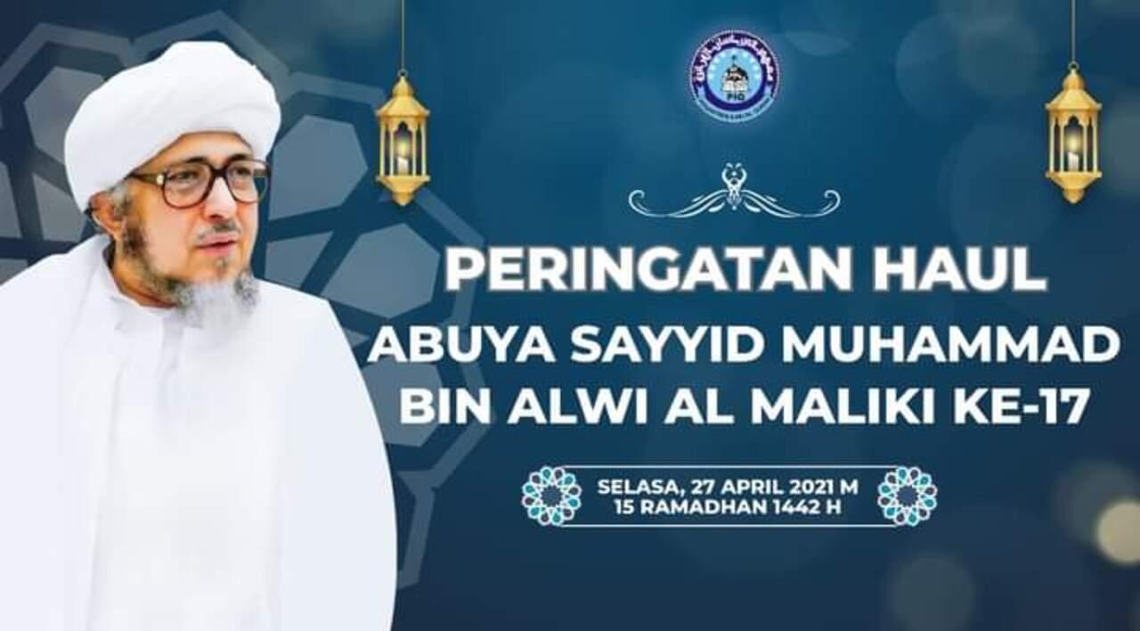 Abuya Assayyid Muhammad Bin Alwi Almaliki Alhasani, Imam Ahlus Sunnah Wal Jama`ah Abad 21