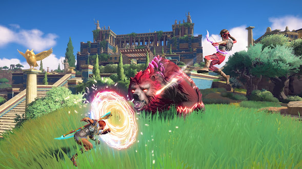 Immortals Fenyx Rising Review another gameplay scene