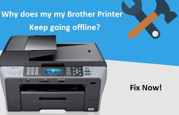 How to fix brother printer keeps going offline?