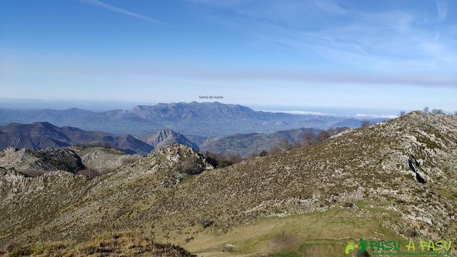 Vista del Sueve desde el Pico Cunio