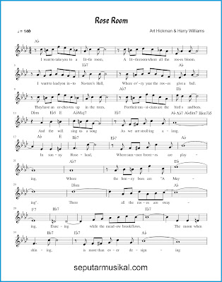 Rose Room ( In Sunny Roseland ) 1 chords jazz standar
