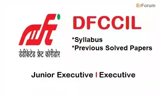 DFCCIL Executive Operations and BD Syllabus | Question Papers