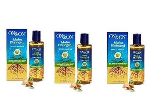 On & On Maha Bhringraj Herbal Hair Oil 200 ml